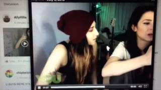 Stevie Boebi & Ally Hills Didn't Know They Were Still Live On Younow