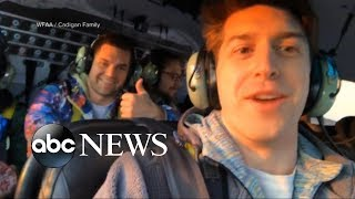 Images show smiling passengers moments before fatal helicopter crash