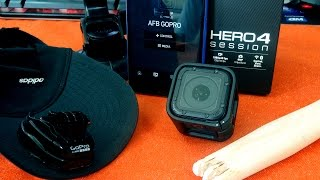GoPro Hero 4 Session Kutu İçeriği, İncelemesi ve DIY Aksesuarlar