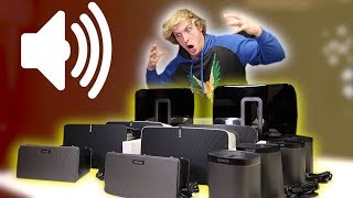 ACTIVATING MY $10,000 SPEAKER SYSTEM! **I