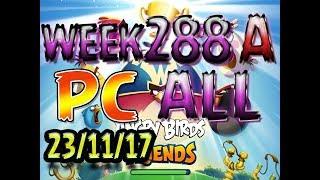 Angry Birds Friends Tournament All Levels week 288-A PC Highscore POWER-UP walkthrough