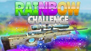 RAINBOW CHALLENGE (Fortnite Battle Royale)