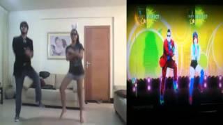 Just Dance 4 Dance Battle - Oppa Gangnam Style (DLC) Gameplay