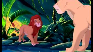 The Lion KIng- Simba and Nala (Can You feel the love tonight)