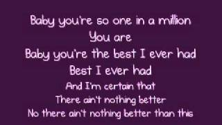 One in a million - Ne Yo [LYRICS ON SCREEN]