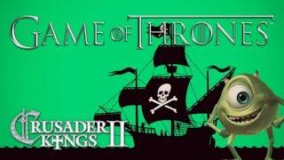 Crusader Kings II Game of Thrones Mod - Green Pirates #1 - Multiplayer Fun