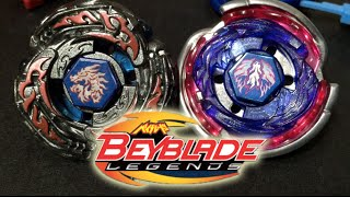 BATTLE: Cosmic Pegasus F:D VS L-Drago Destructor F:S - Beyblade Legends Hyperblades