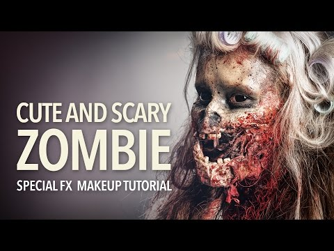 Cute and scary zombie special fx