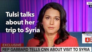 Tulsi Interview on CNN with Jake Tapper on Syria Trip