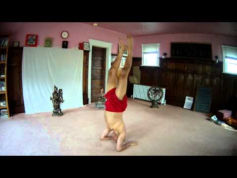 Headstand variations