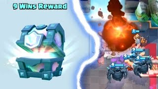 WIN A FREE LEGENDARY CHEST CHALLENGE | Clash Royale