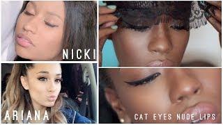 Nicki Minaj + Ariana Grande Pills and Potions Makeup Look
