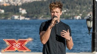 Spencer Sutherland bares all for a spot at Live Shows | Judges' Houses | The X Factor 2017