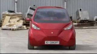 dok ing xd-a croatian electric car