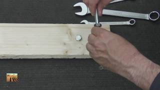 Life hack how to twist off screws without nut wrenches   YouTube