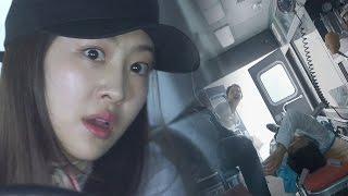 다솜, 난폭한 운전 끝 대형 교통사고 '다중추돌' @언니는 살아있다 4회 20170422