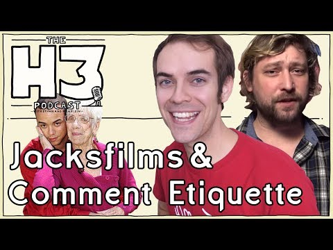 H3 Podcast 64 Jacksfilms & Erik & Call in from Cougar Champ