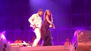 Rihanna and Drake performing 'Work' Live at Manchester Stadium ANTI World Tour 29/06/16
