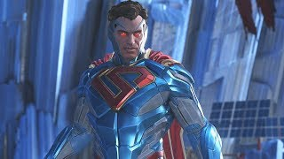 Injustice 2: Superman Vs All Characters   All Intro/Interaction Dialogues & Clash Quotes