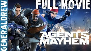 [PS4PRO] Agents of Mayhem - FULL GAME MOVIE (ALL STORY CUTSCENES) [1080P] FULL HD