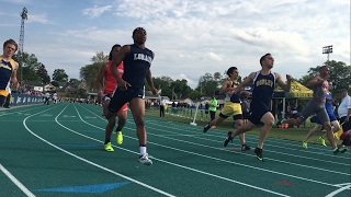 Lorain's Zion Cross wins 100 in regional after returning from injury