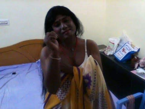 Saree wearing Shemale