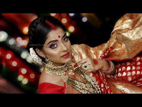 Xxx Mp4 Dusky Bong Beauty Bridal Makeup On Dusky Indian HudaBeauty Makeover By Reshmi 3gp Sex