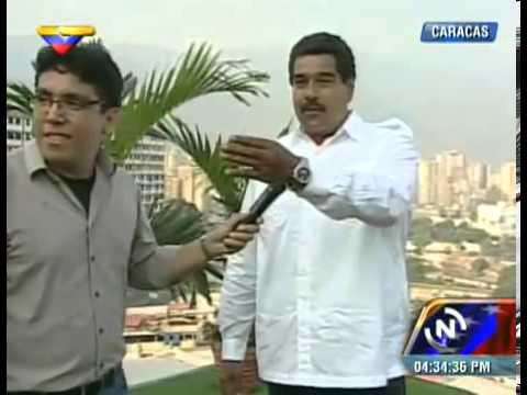 Maduro recibió a Marisabel Rodríguez y Rosinés Chávez