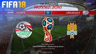 FIFA 18 World Cup - Egypt vs. Uruguay @ Ekaterinburg Arena (Group A)