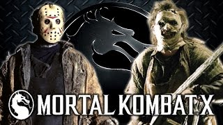 Mortal Kombat X: Leatherface vs Jason! [MKX HD Gameplay w/ Fatality and Brutality]