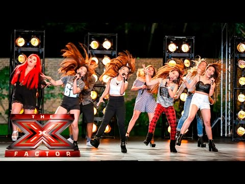 Xxx Mp4 Group 13 Cover Tina Turner's Proud Mary Boot Camp The X Factor UK 2015 3gp Sex