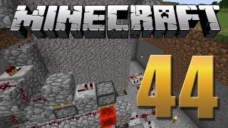 Começando a Arena PVP/ Porta 6x6 de cascalho - Minecraft Em busca da casa automática #44.