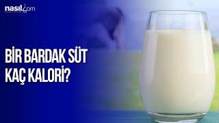 Bir bardak süt kaç kalori?   Diyet-Kilo   Nasil.com