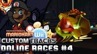 Mario Kart Wii Custom Tracks - Online Races #4   META MONKEY