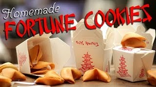How to Make Your Own Fortune Cookies | Just Add Sugar