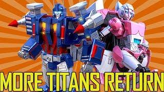 Titans Return Arcee, Ultra Magnus, Scorponok? Possible Box Sets | TF-Talk #117