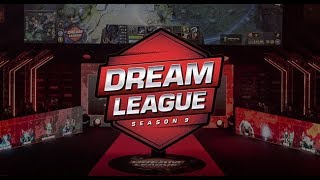 Team Secret vs Team Empire game 1 DreamLeague 9