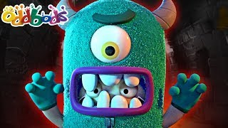 Oddbods 🎃 MONSTER OF ODDSVILLE 🎃 Funny Halloween Cartoon For Children