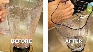 How To Clean Your Blender In 30 Seconds (Without Taking It Apart!)