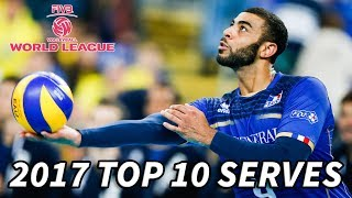 Top 10 SERVES - 2017 World League FINALS - Volleyball Aces
