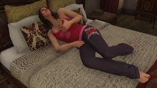 GTA V: Franklin Walks In On Amanda With Her Toy!