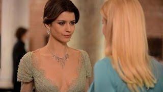 بيرين سات تثير الجدل بفستان جريء في مسلسل إنتقام