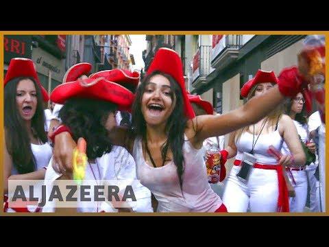 Xxx Mp4 🇪🇸 Women Face Sex Predator Threat In Spain 39 S Running Of The Bulls Al Jazeera English 3gp Sex