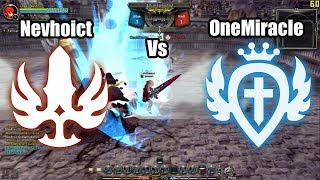 DN INA (95 lvl cap) PVP Showmatch: Gladiator (Nevhoict) vs Guardian (OneMiracle)