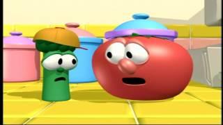VeggieTales Josh and the Big Wall Countertop Scene (HD)