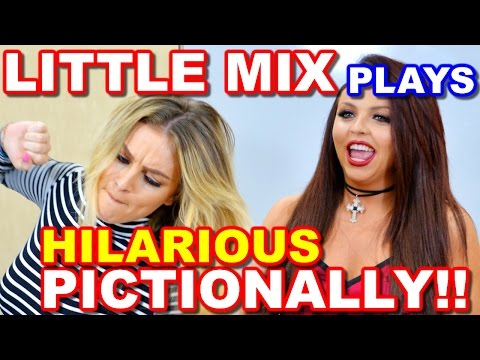 LITTLE MIX Plays PICTIONARY and It's Absolutely HILARIOUS!!!