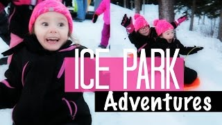 ICE PARK ADVENTURES with HEIDI SOMERS   Somers In Alaska Vlogs