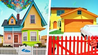 10 Cartoon Houses Built In Real Life!