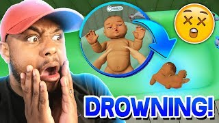 DROWNING MY BABY!! | Mother Simulator