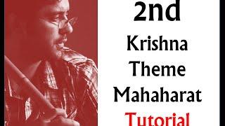 2nd Krishna Theme | Tutorial By Harsh Dave| Star Plus Mahabharat|